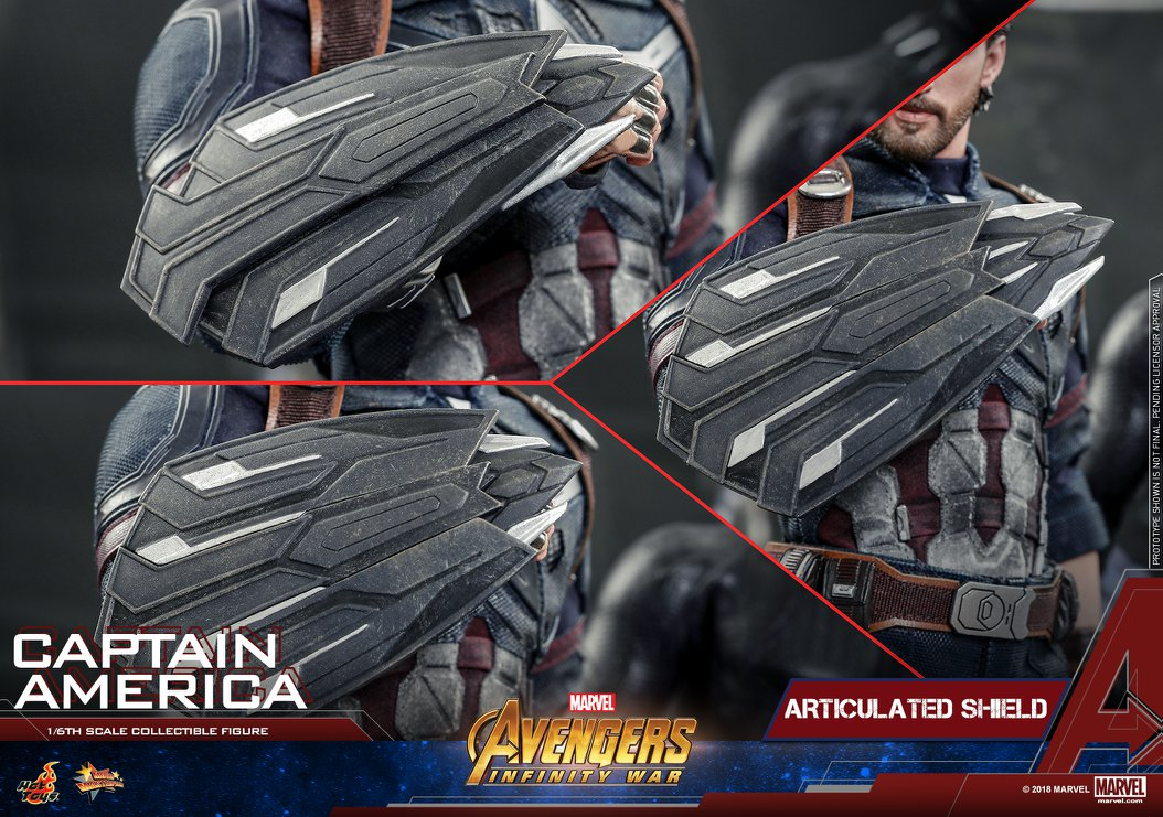 Hot Toys - MMS480 - Avengers: Infinity War - Captain America