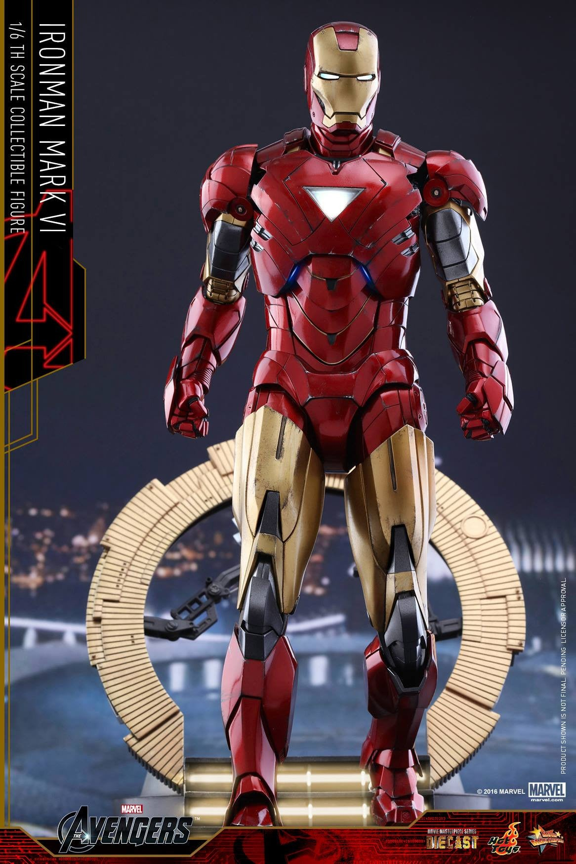 Hot Toys - MMS378D17 - The Avengers - Iron Man Mark VI (DIECAST) (Normal Edition) - Marvelous Toys - 2