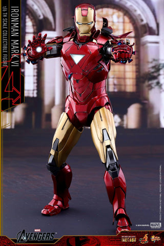 Hot Toys - MMS378D17 - The Avengers - Iron Man Mark VI (DIECAST) (Normal Edition) - Marvelous Toys - 1