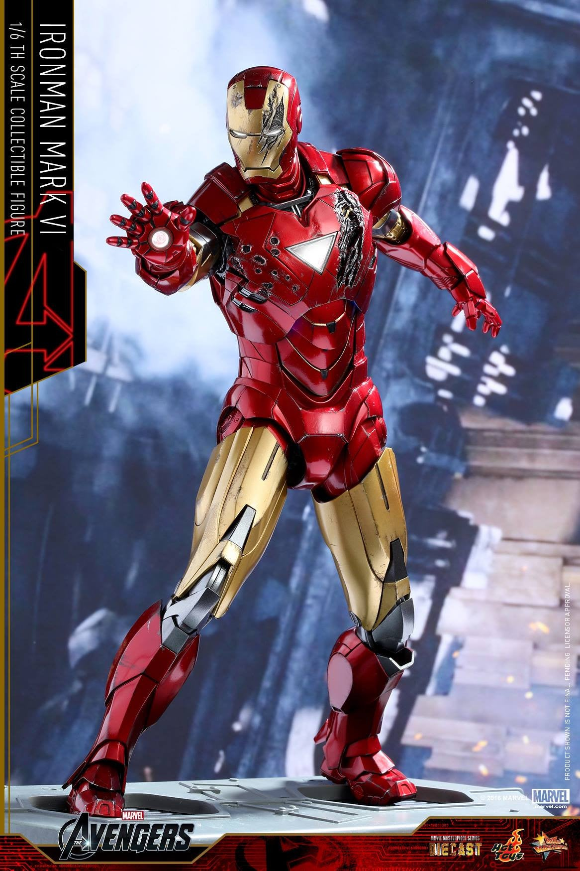 Hot Toys - MMS378D17 - The Avengers - Iron Man Mark VI (DIECAST) (Normal Edition) - Marvelous Toys - 4