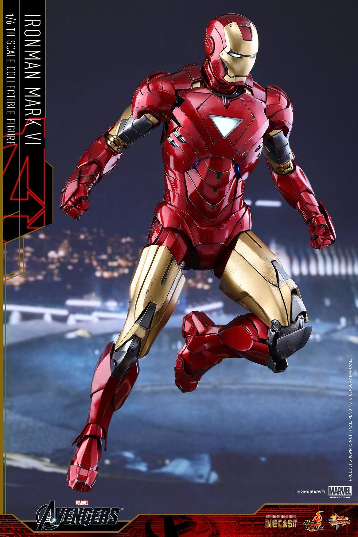 Hot Toys - MMS378D17 - The Avengers - Iron Man Mark VI (DIECAST) (Normal Edition) - Marvelous Toys - 5