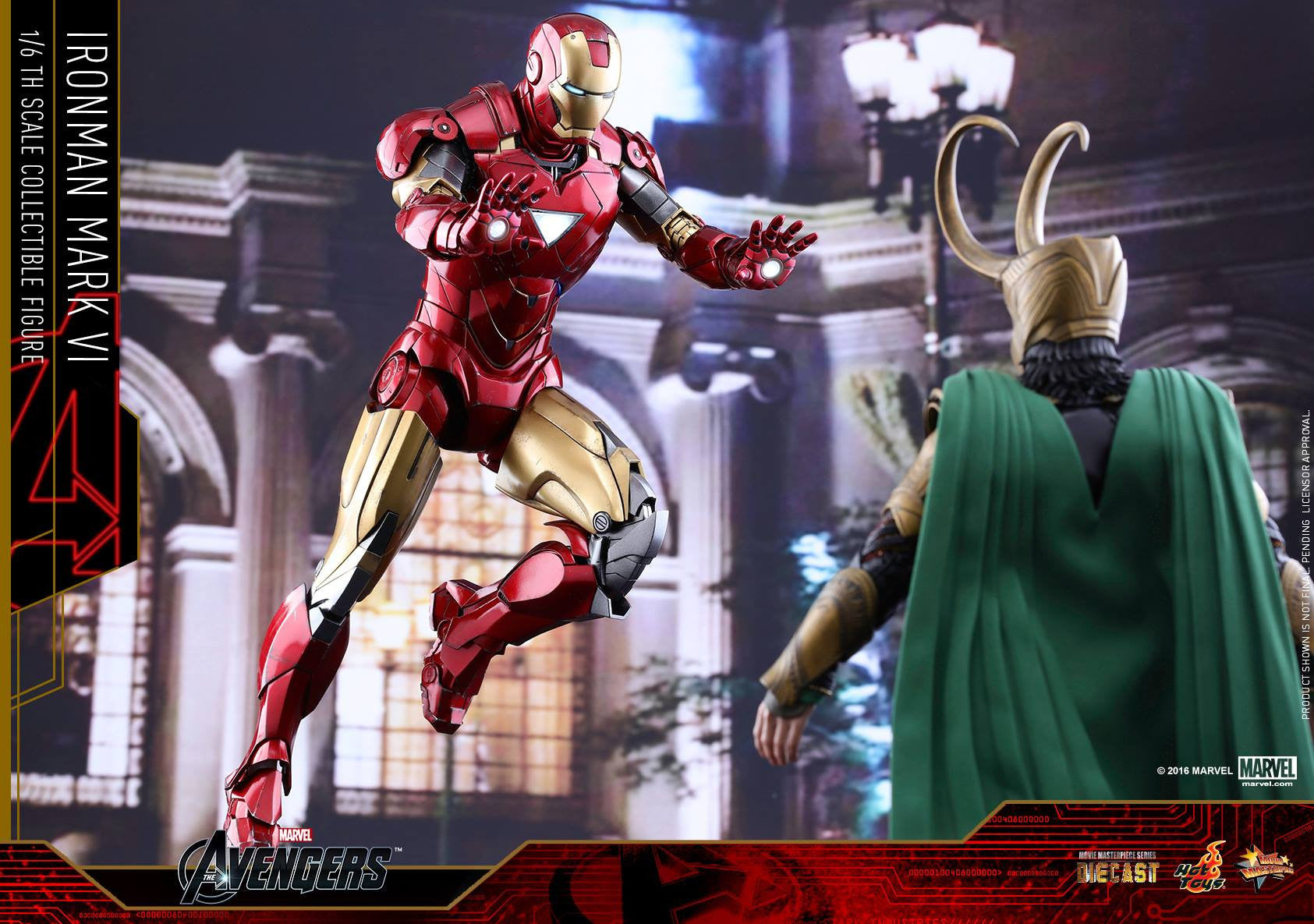 Hot Toys - MMS378D17 - The Avengers - Iron Man Mark VI (DIECAST) (Normal Edition) - Marvelous Toys - 6
