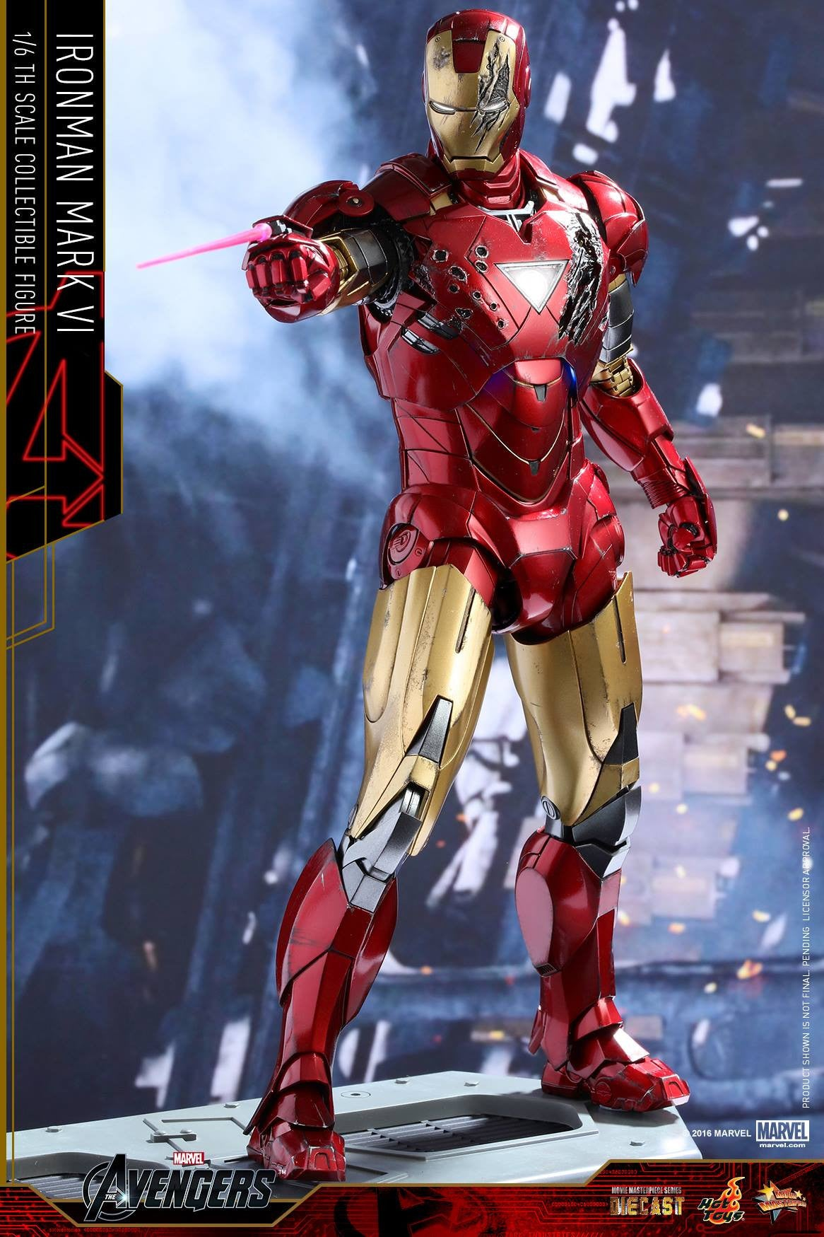 Hot Toys - MMS378D17 - The Avengers - Iron Man Mark VI (DIECAST) (Normal Edition) - Marvelous Toys - 7