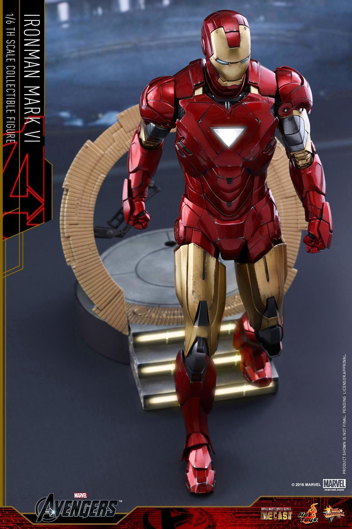 Hot Toys - MMS378D17 - The Avengers - Iron Man Mark VI (DIECAST) (Normal Edition) - Marvelous Toys - 8