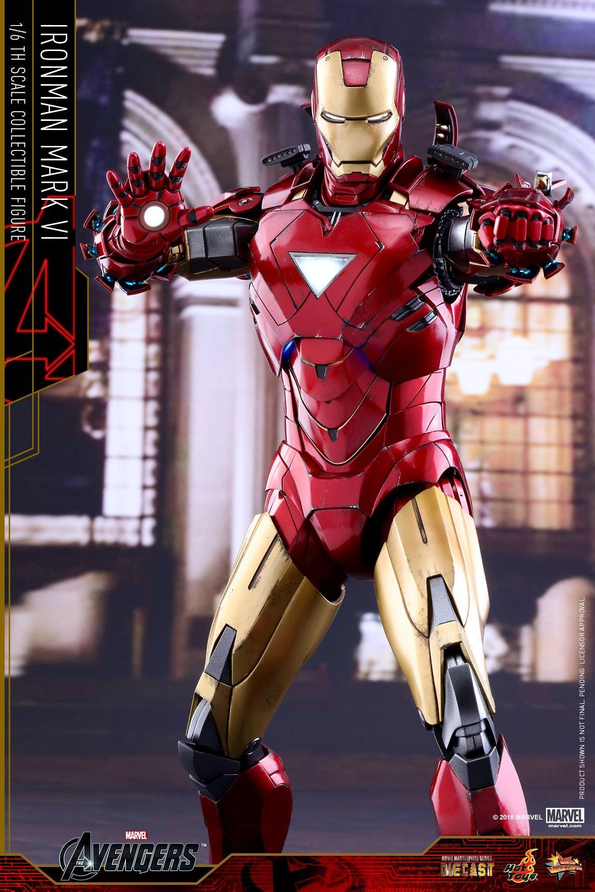Hot Toys - MMS378D17 - The Avengers - Iron Man Mark VI (DIECAST) (Normal Edition) - Marvelous Toys - 9