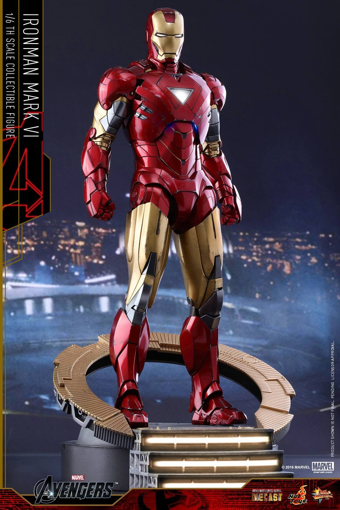 Hot Toys - MMS378D17 - The Avengers - Iron Man Mark VI (DIECAST) (Normal Edition) - Marvelous Toys - 10