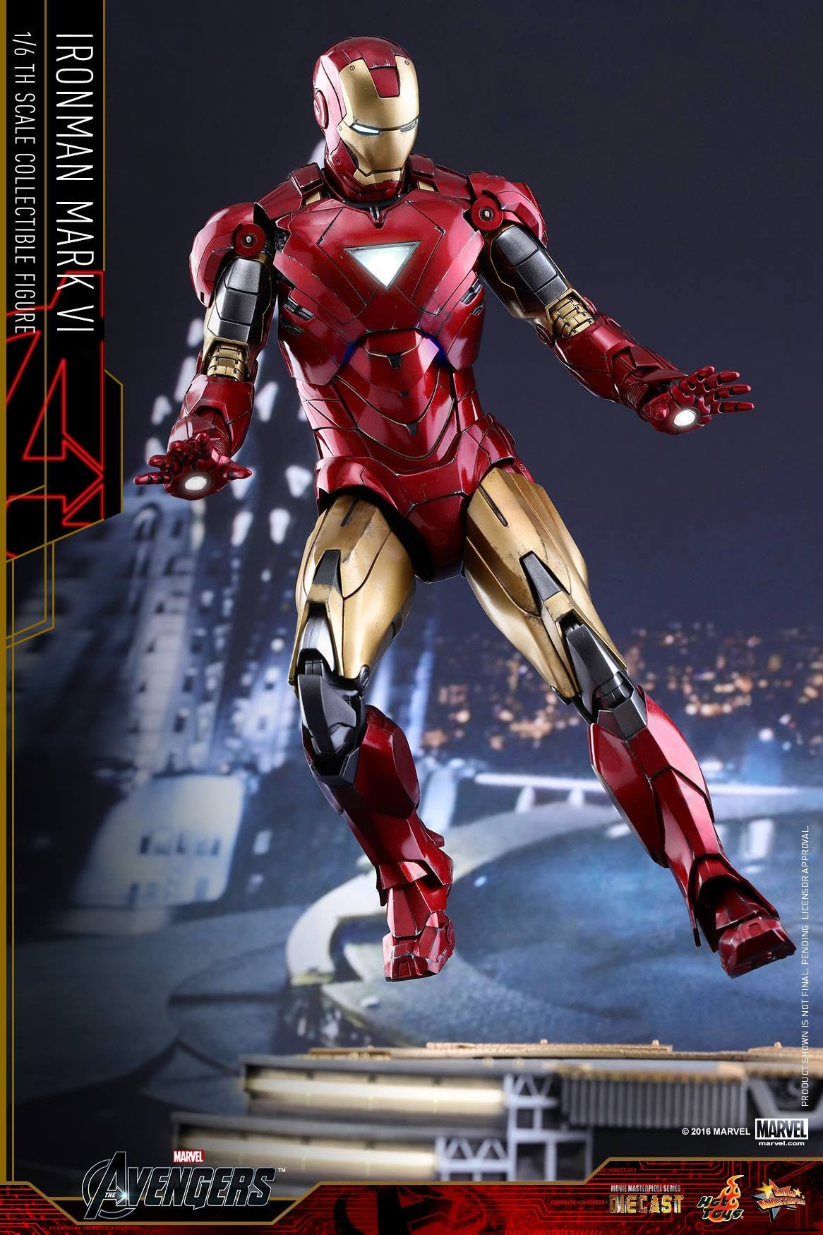Hot Toys - MMS378D17 - The Avengers - Iron Man Mark VI (DIECAST) (Normal Edition) - Marvelous Toys - 11
