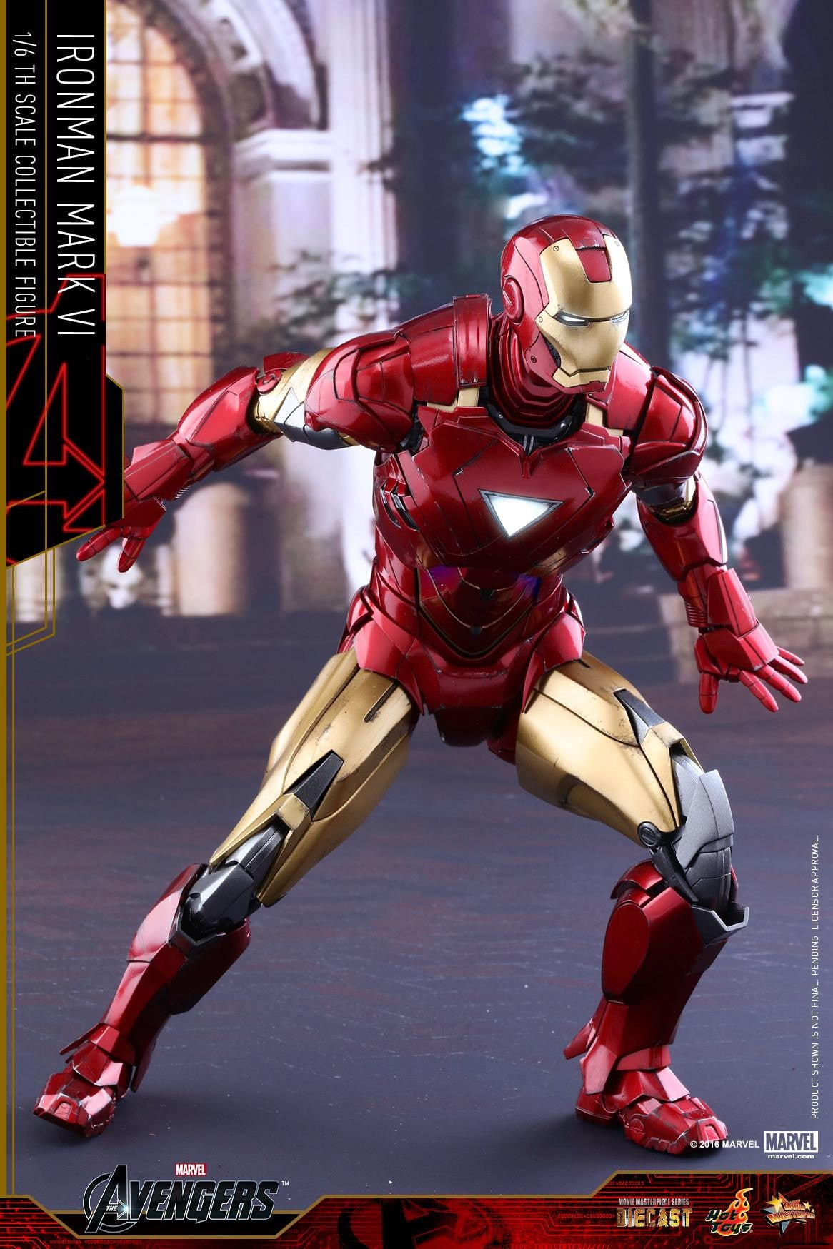 Hot Toys - MMS378D17 - The Avengers - Iron Man Mark VI (DIECAST) (Normal Edition) - Marvelous Toys - 13