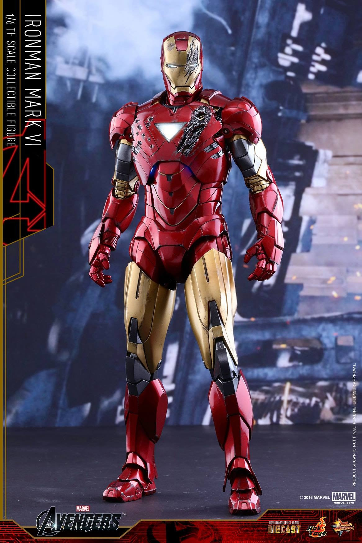 Hot Toys - MMS378D17 - The Avengers - Iron Man Mark VI (DIECAST) (Normal Edition) - Marvelous Toys - 14