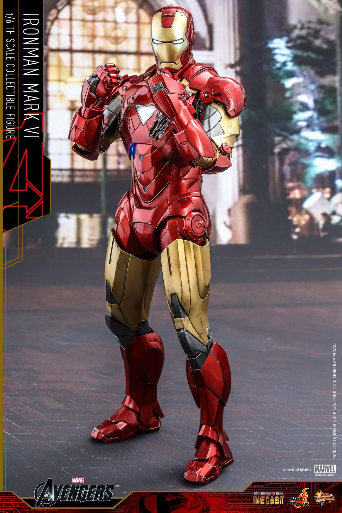 Hot Toys - MMS378D17 - The Avengers - Iron Man Mark VI (DIECAST) (Normal Edition) - Marvelous Toys - 15