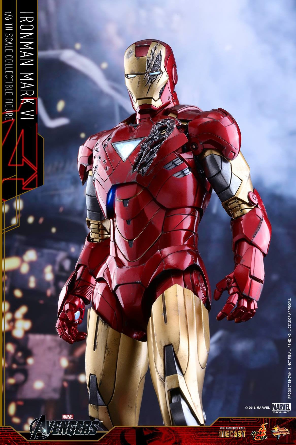 Hot Toys - MMS378D17 - The Avengers - Iron Man Mark VI (DIECAST) (Normal Edition) - Marvelous Toys - 16