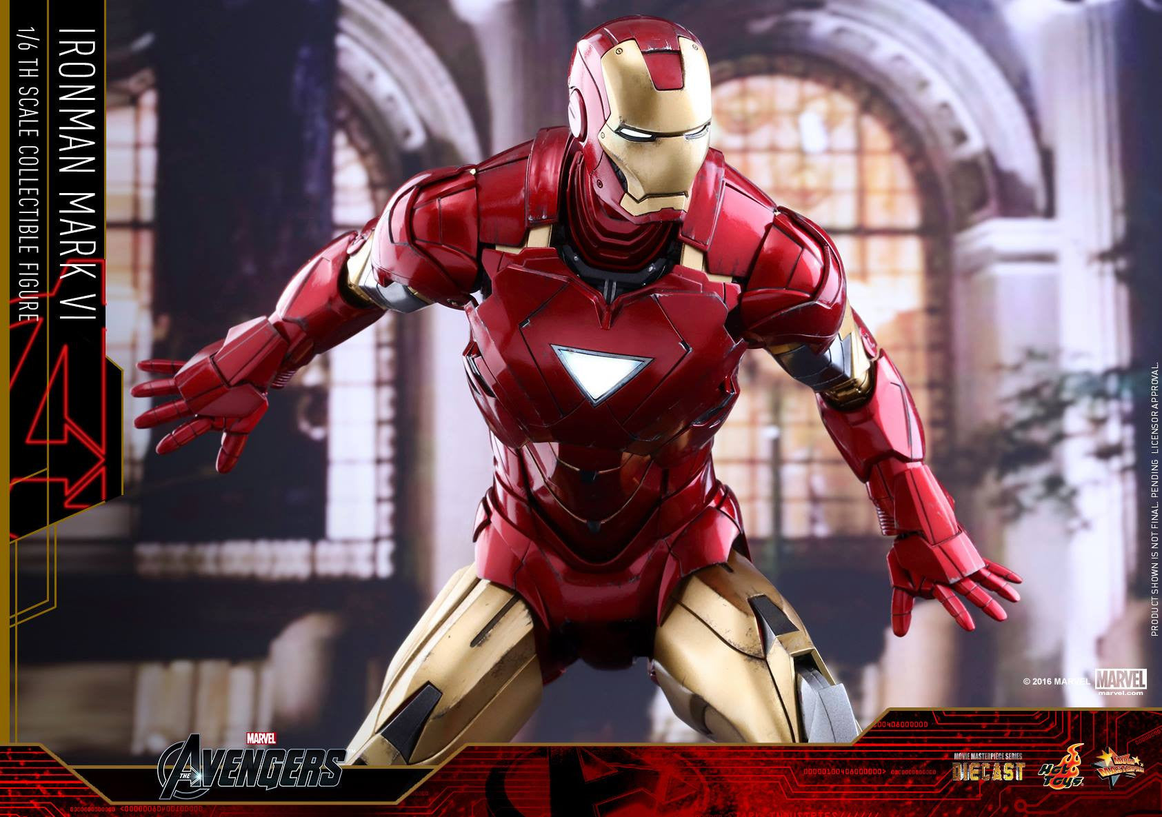 Hot Toys - MMS378D17 - The Avengers - Iron Man Mark VI (DIECAST) (Normal Edition) - Marvelous Toys - 18