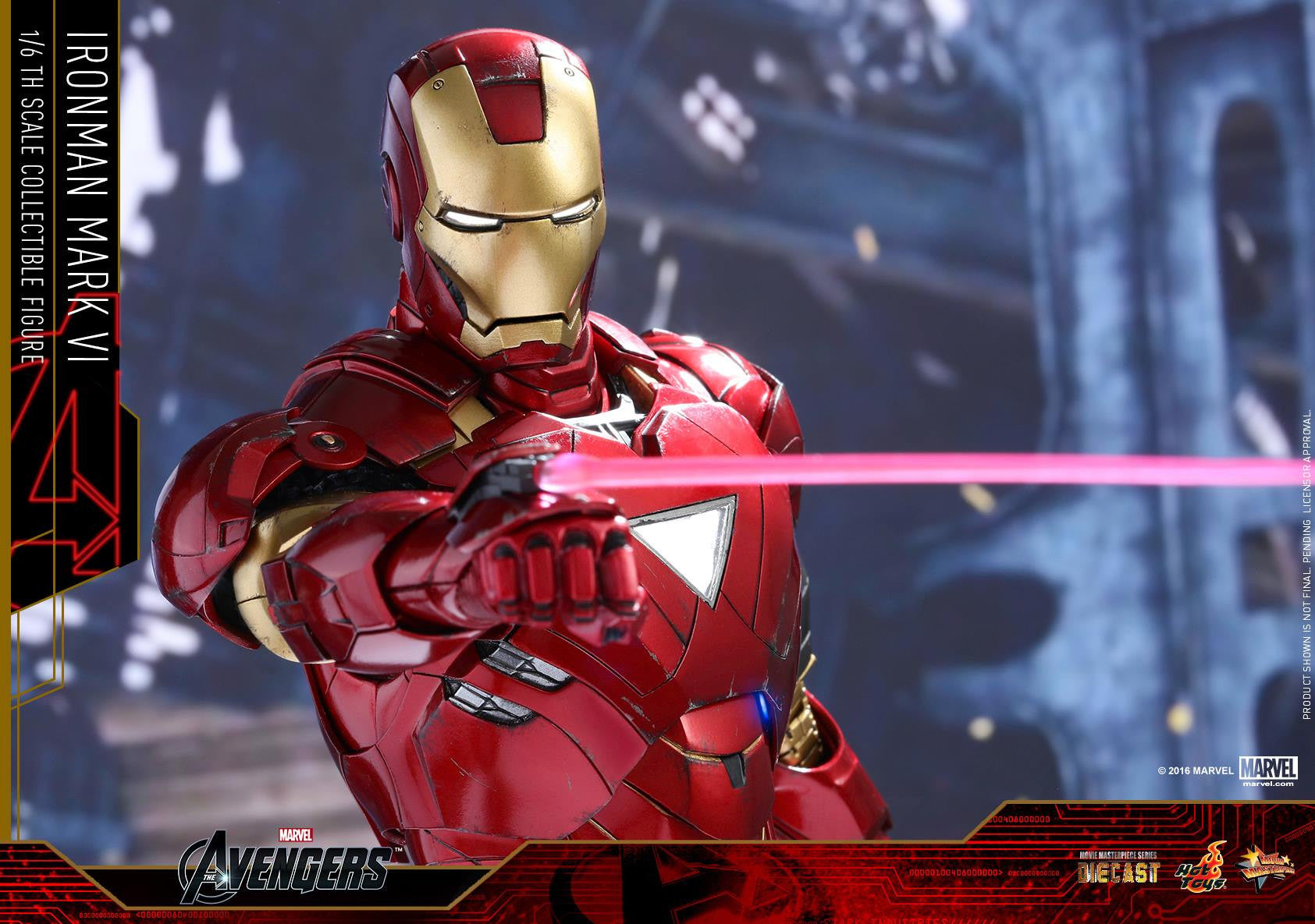 Hot Toys - MMS378D17 - The Avengers - Iron Man Mark VI (DIECAST) (Normal Edition) - Marvelous Toys - 20