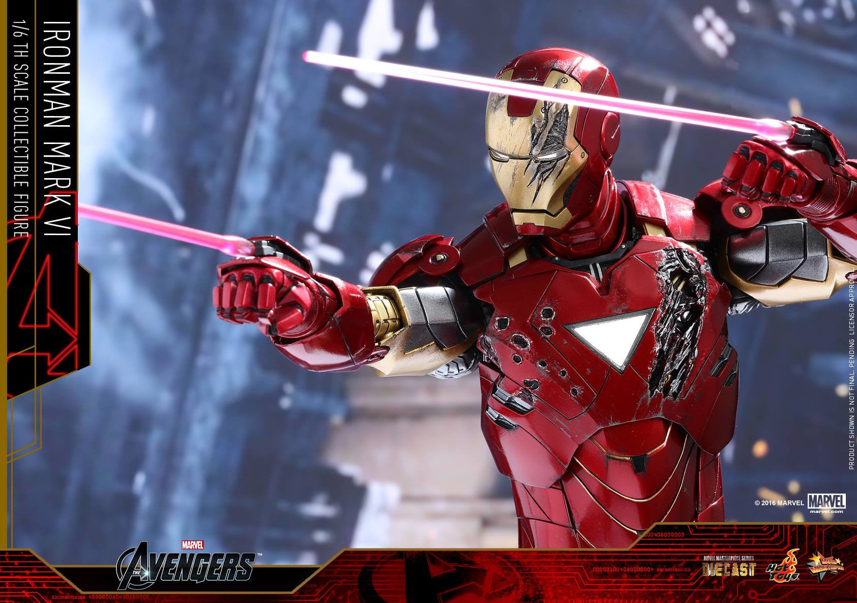Hot Toys - MMS378D17 - The Avengers - Iron Man Mark VI (DIECAST) (Normal Edition) - Marvelous Toys - 21