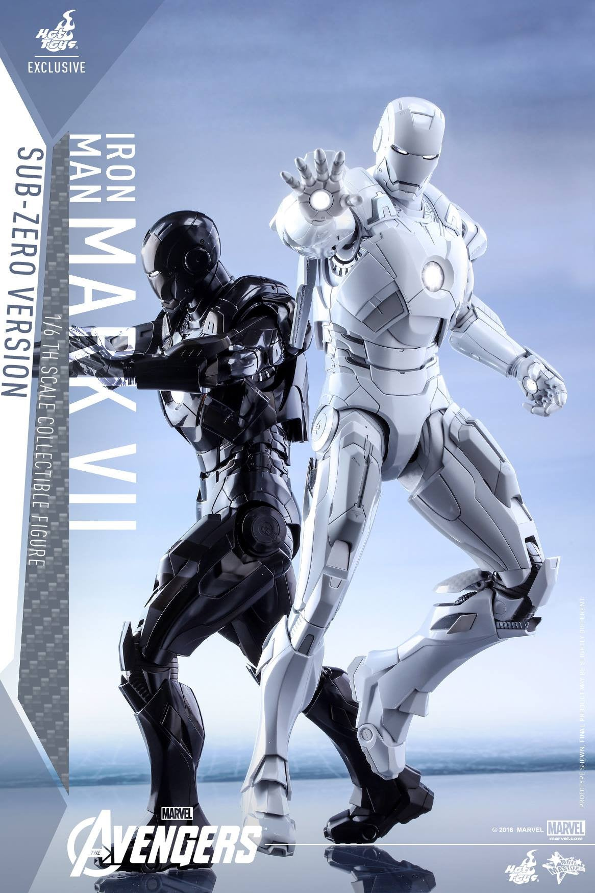 (IN STOCK) Hot Toys - MMS329 - The Avengers - Iron Man Mark VII (Sub-Zero Version) - Marvelous Toys - 9