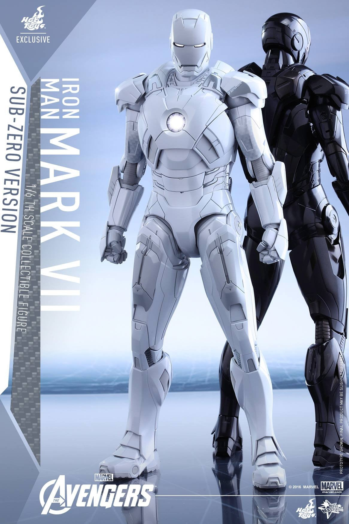 (IN STOCK) Hot Toys - MMS329 - The Avengers - Iron Man Mark VII (Sub-Zero Version) - Marvelous Toys - 7