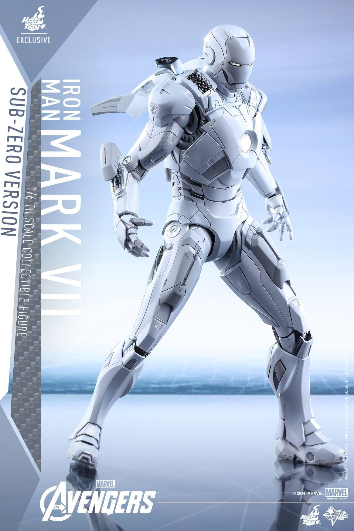 (IN STOCK) Hot Toys - MMS329 - The Avengers - Iron Man Mark VII (Sub-Zero Version) - Marvelous Toys - 3