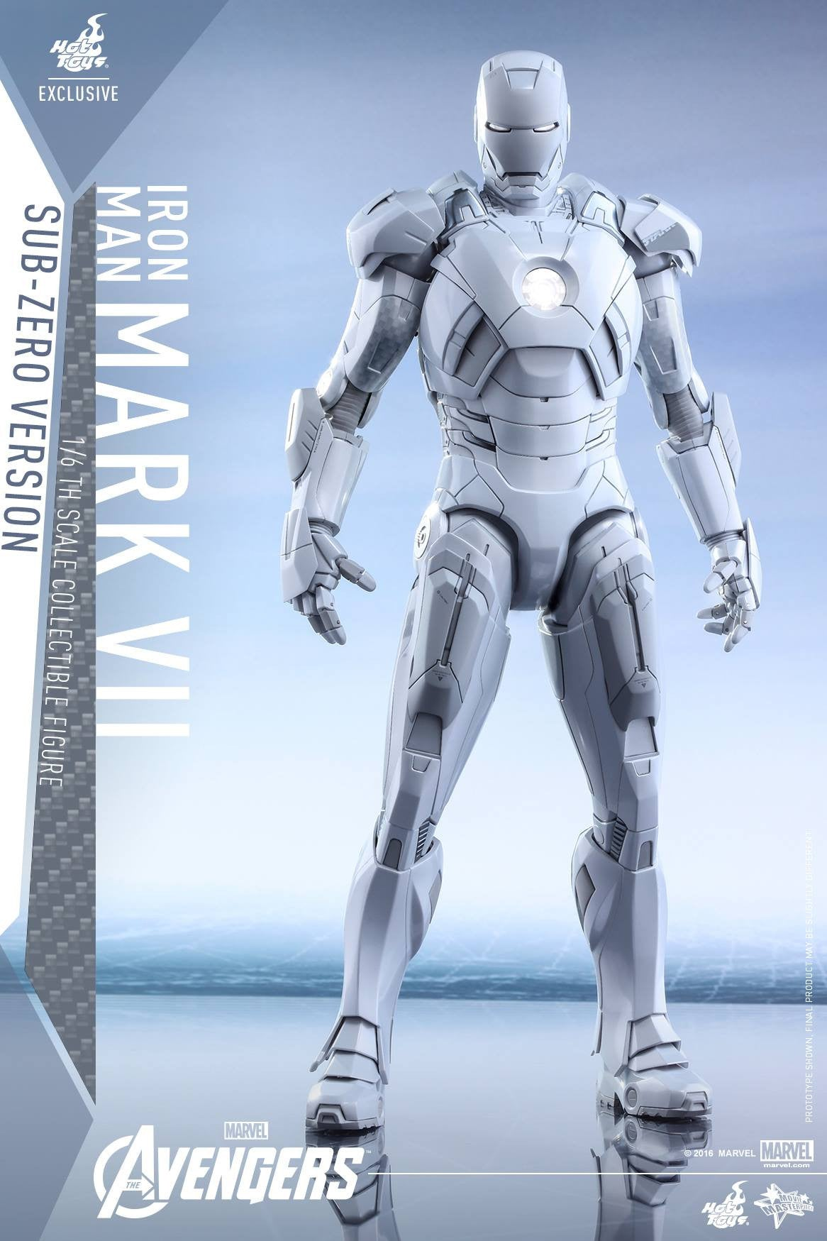 (IN STOCK) Hot Toys - MMS329 - The Avengers - Iron Man Mark VII (Sub-Zero Version) - Marvelous Toys - 4