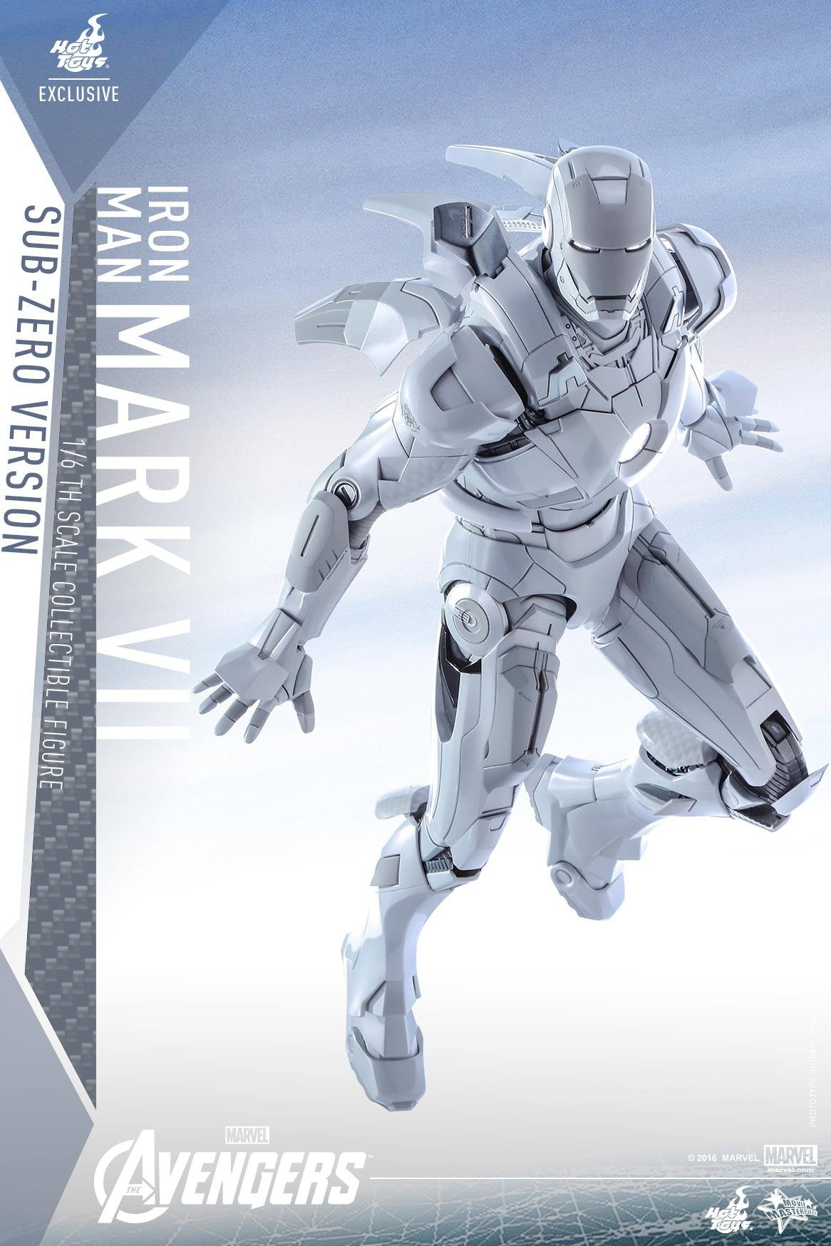 (IN STOCK) Hot Toys - MMS329 - The Avengers - Iron Man Mark VII (Sub-Zero Version) - Marvelous Toys - 5