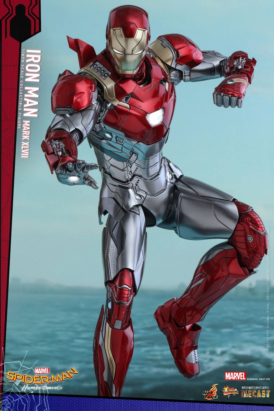 Hot Toys - MMS427D19 - Spider-Man: Homecoming - Iron Man Mark XLVII