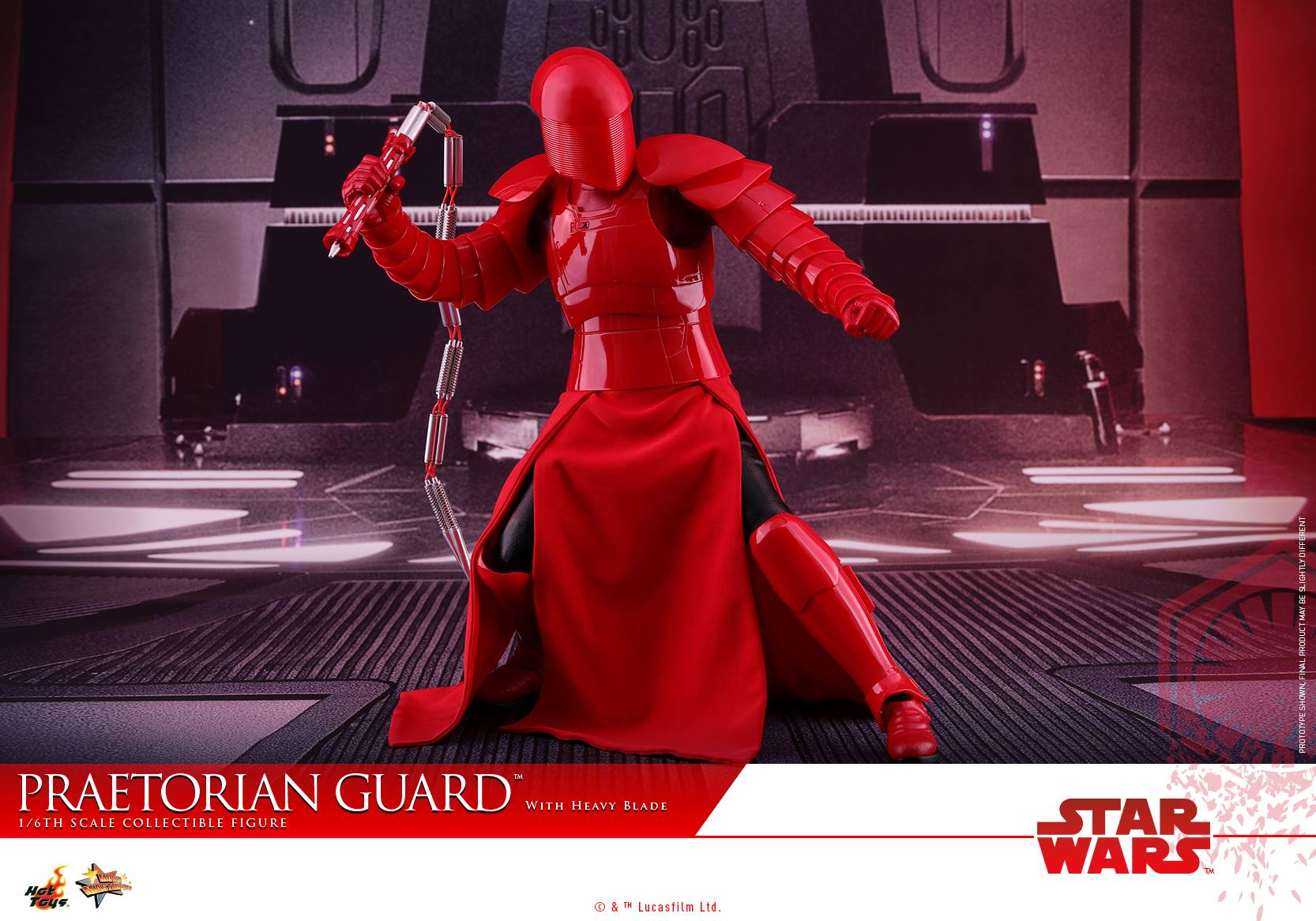 Hot Toys - MMS453 - Star Wars: The Last Jedi - Praetorian Guard (with Heavy Blade)