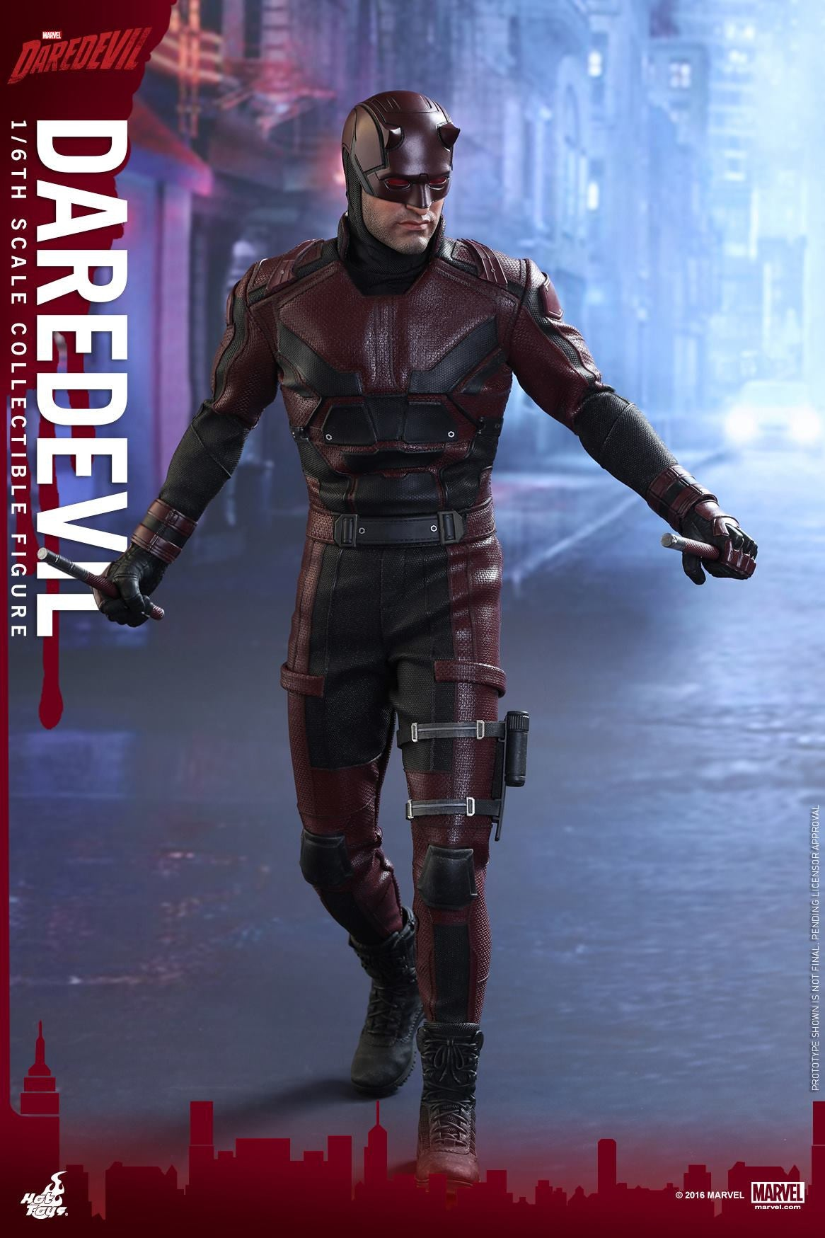 Hot Toys - TMS003 - Marvel's Daredevil - Daredevil - Marvelous Toys - 4