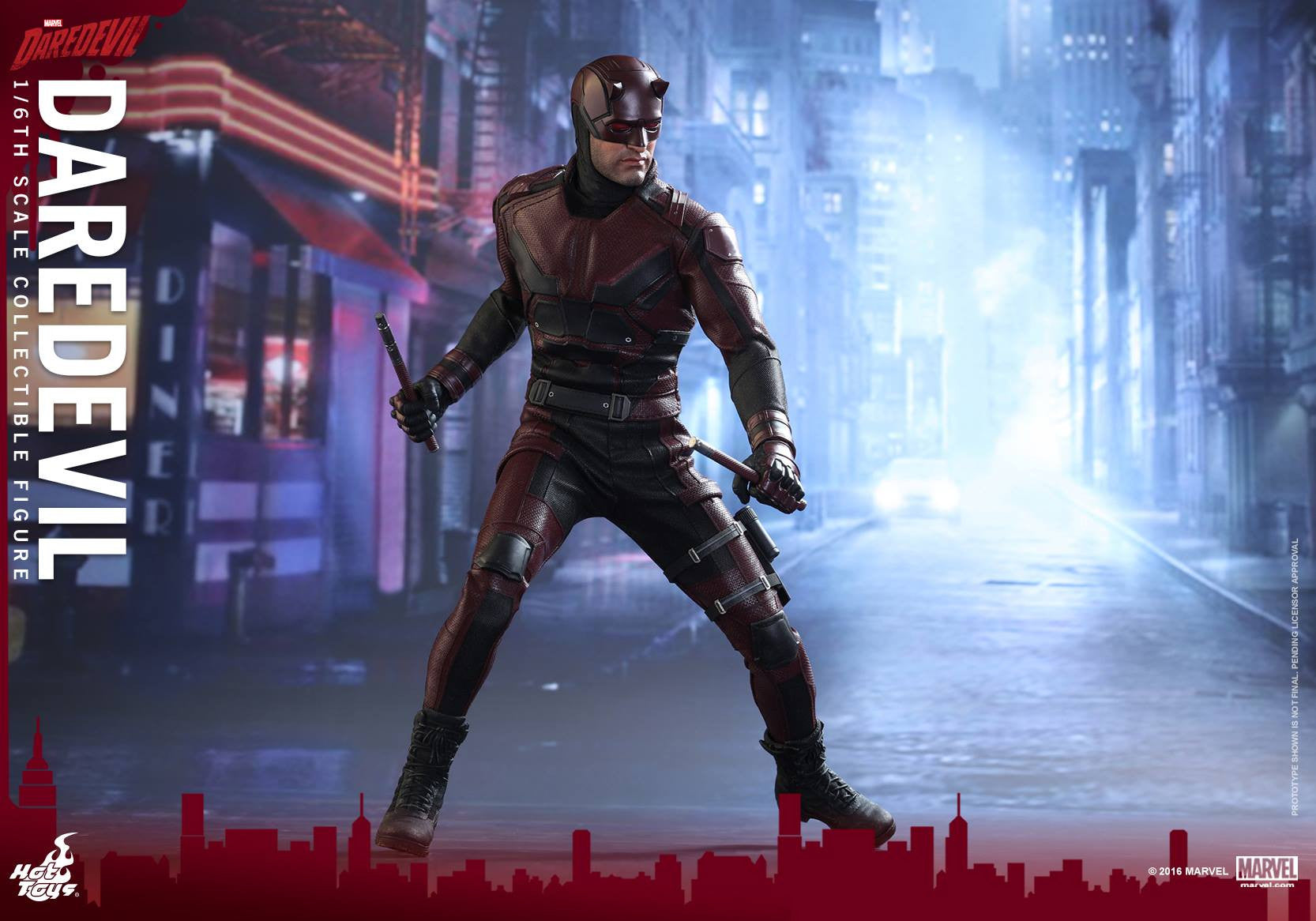 Hot Toys - TMS003 - Marvel's Daredevil - Daredevil - Marvelous Toys - 13