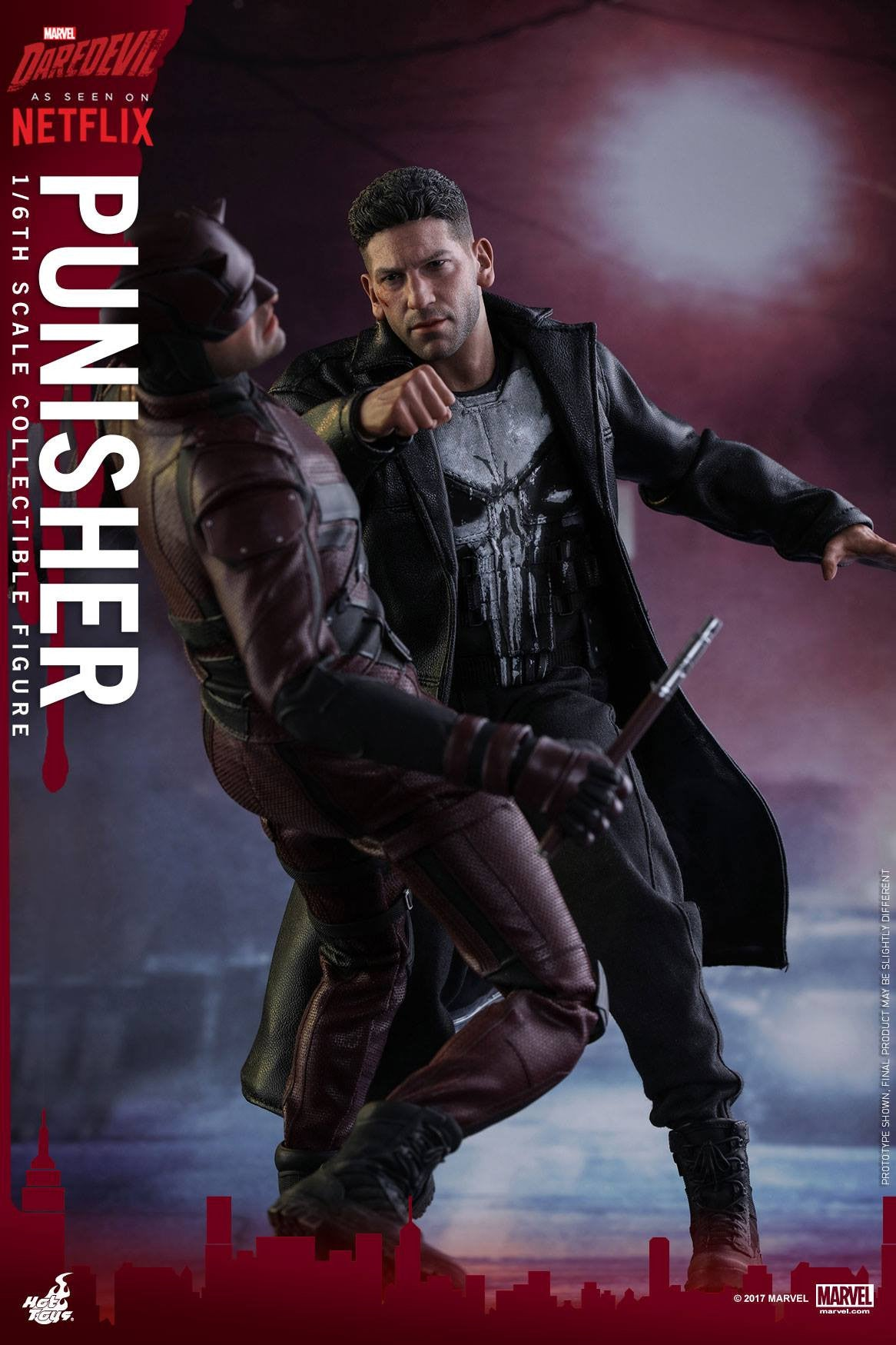 Hot Toys - TMS004 - Marvel's Daredevil - Punisher