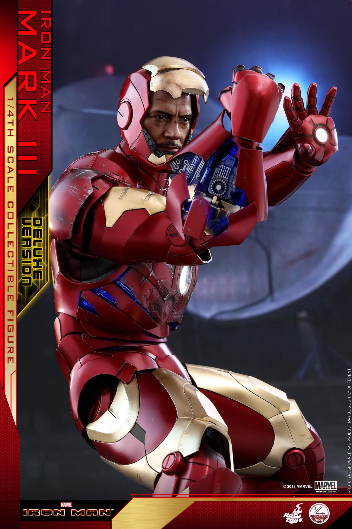 Hot Toys - QS012 - Iron Man Mark III Deluxe Edition (1/4 Scale)
