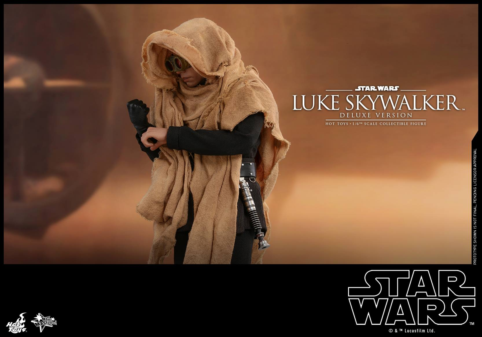 Hot Toys - MMS517 - Star Wars: Return of the Jedi - Luke Skywalker (Deluxe Version)