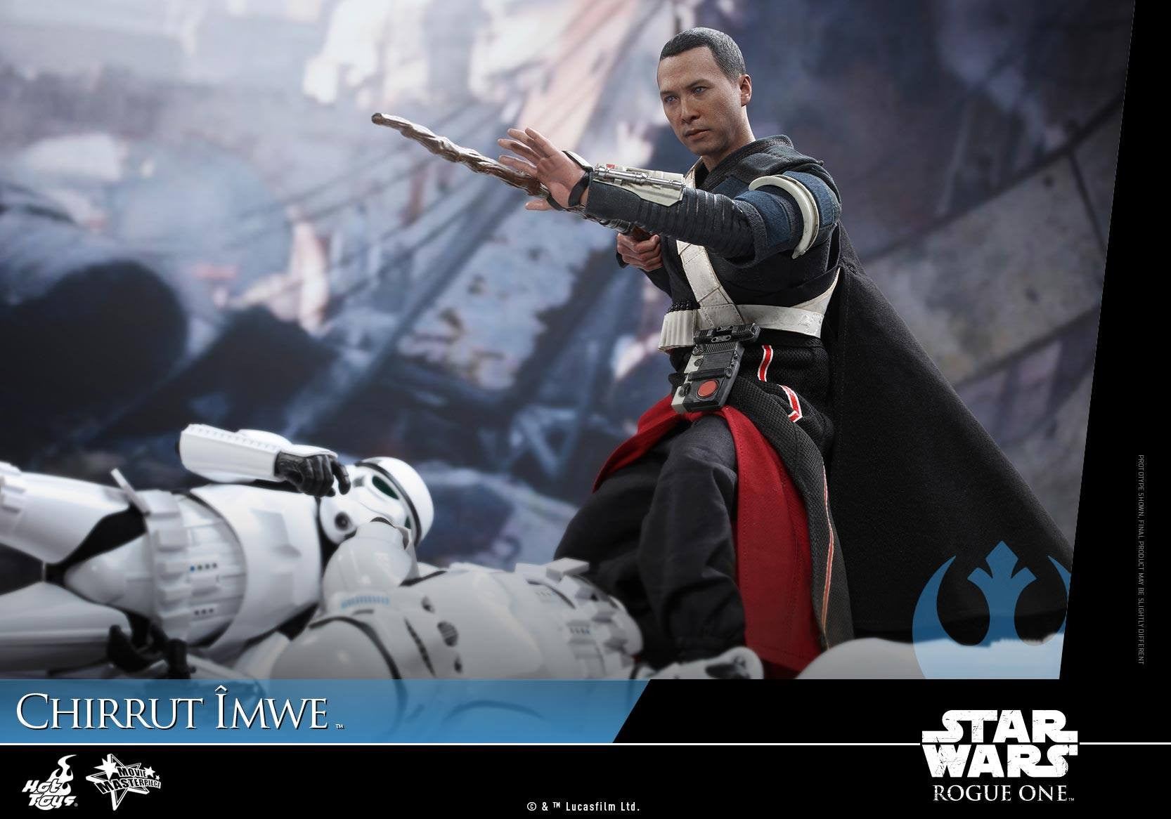 Hot Toys - MMS403 - Rogue One: A Star Wars Story - Chirrut Îmwe (Deluxe Version) - Marvelous Toys - 3