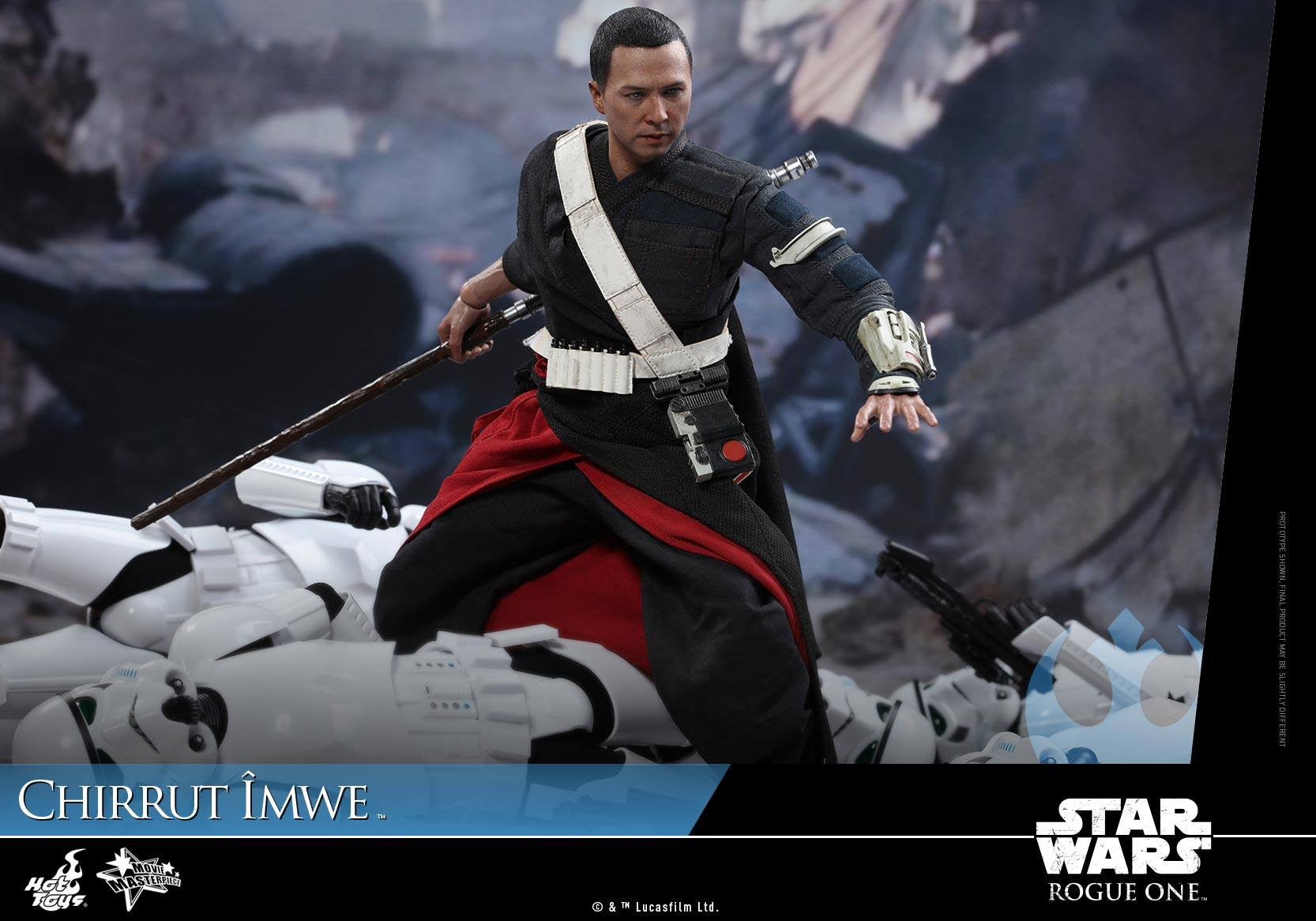 Hot Toys - MMS403 - Rogue One: A Star Wars Story - Chirrut Îmwe (Deluxe Version) - Marvelous Toys - 5