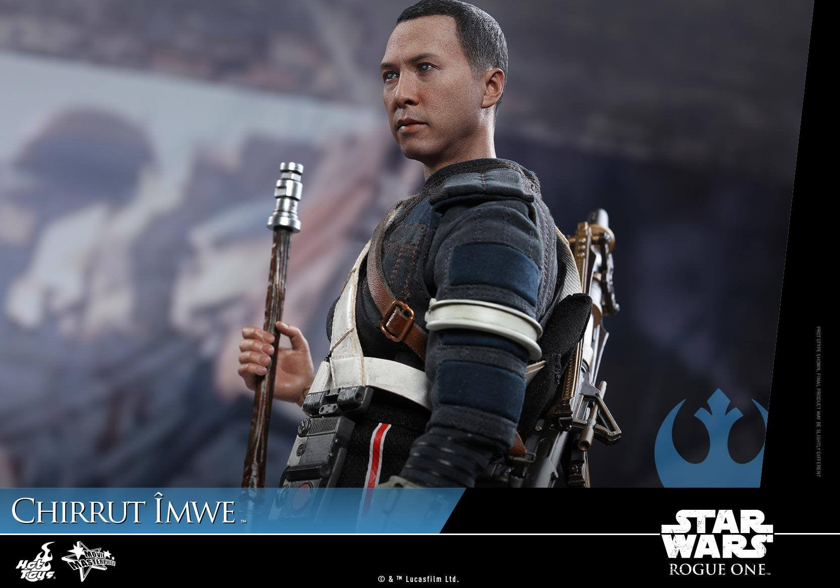 Hot Toys - MMS403 - Rogue One: A Star Wars Story - Chirrut Îmwe (Deluxe Version) - Marvelous Toys - 7