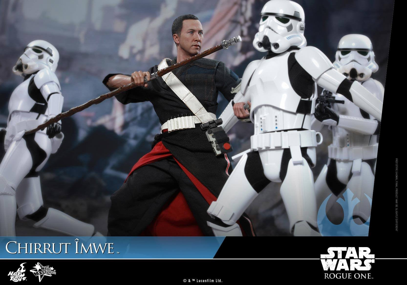 Hot Toys - MMS403 - Rogue One: A Star Wars Story - Chirrut Îmwe (Deluxe Version) - Marvelous Toys - 8