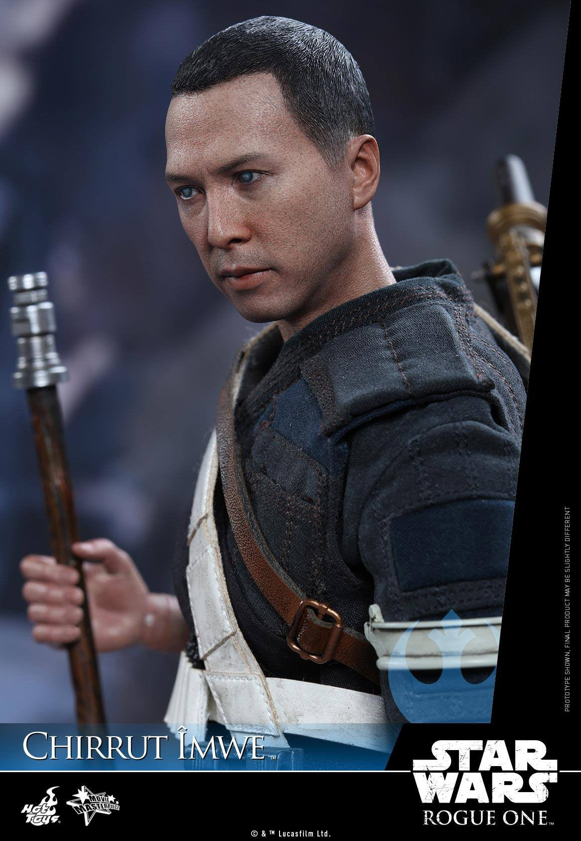 Hot Toys - MMS403 - Rogue One: A Star Wars Story - Chirrut Îmwe (Deluxe Version) - Marvelous Toys - 9