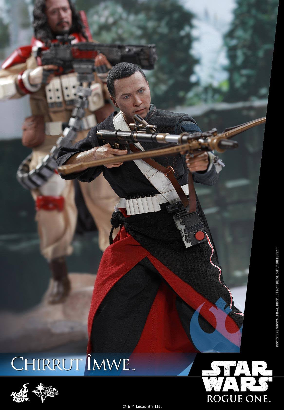 Hot Toys - MMS403 - Rogue One: A Star Wars Story - Chirrut Îmwe (Deluxe Version) - Marvelous Toys - 11