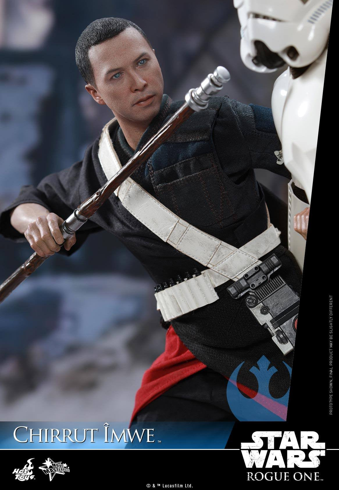 Hot Toys - MMS403 - Rogue One: A Star Wars Story - Chirrut Îmwe (Deluxe Version) - Marvelous Toys - 13