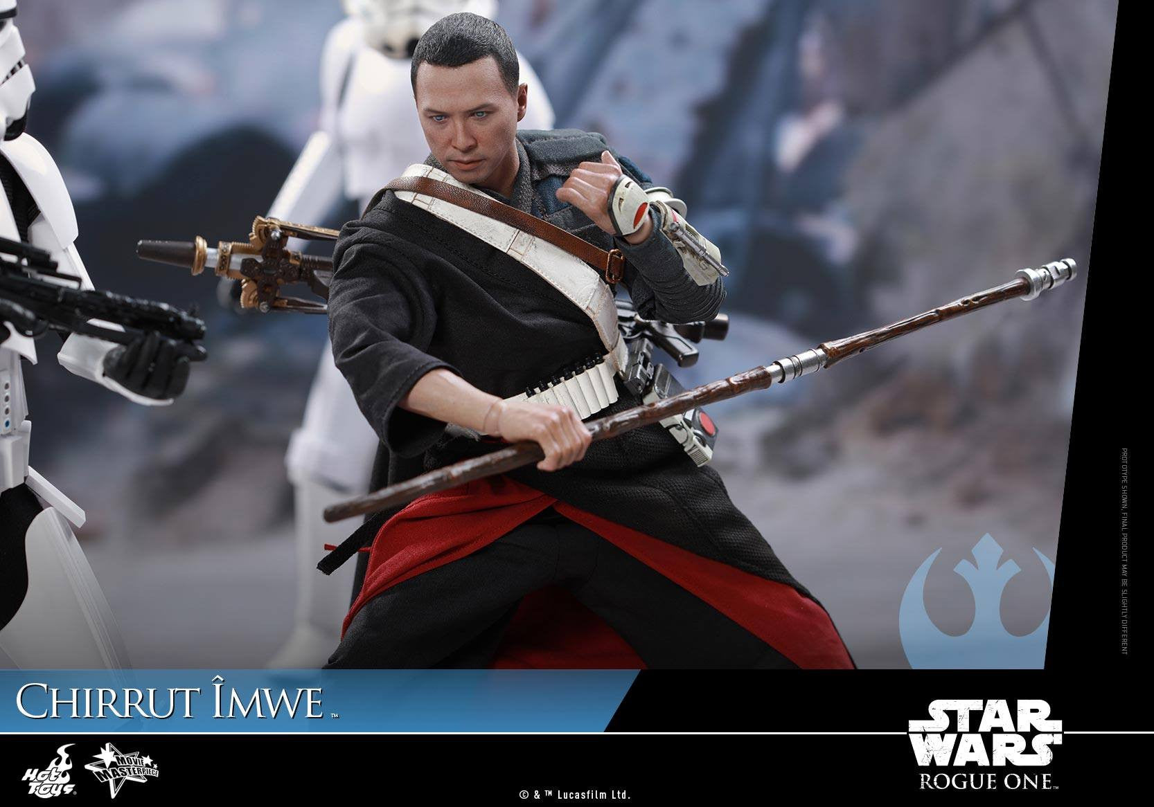 Hot Toys - MMS403 - Rogue One: A Star Wars Story - Chirrut Îmwe (Deluxe Version) - Marvelous Toys - 14