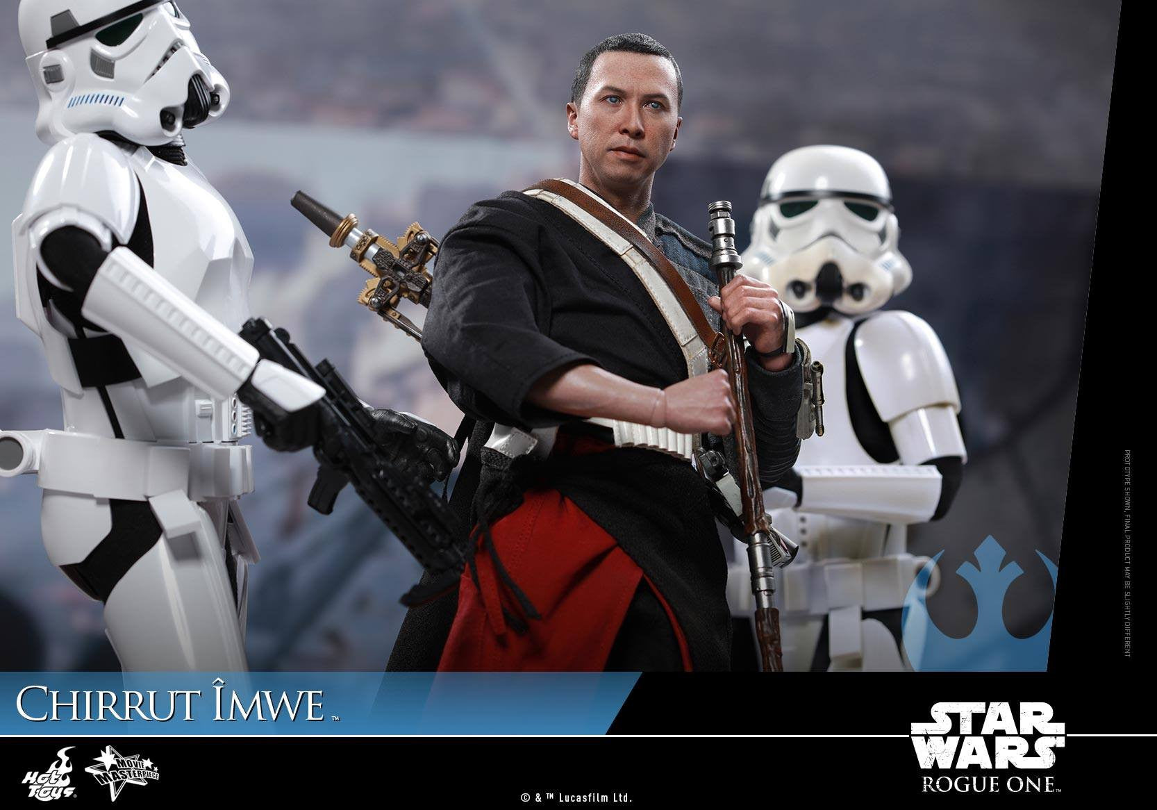 Hot Toys - MMS403 - Rogue One: A Star Wars Story - Chirrut Îmwe (Deluxe Version) - Marvelous Toys - 15