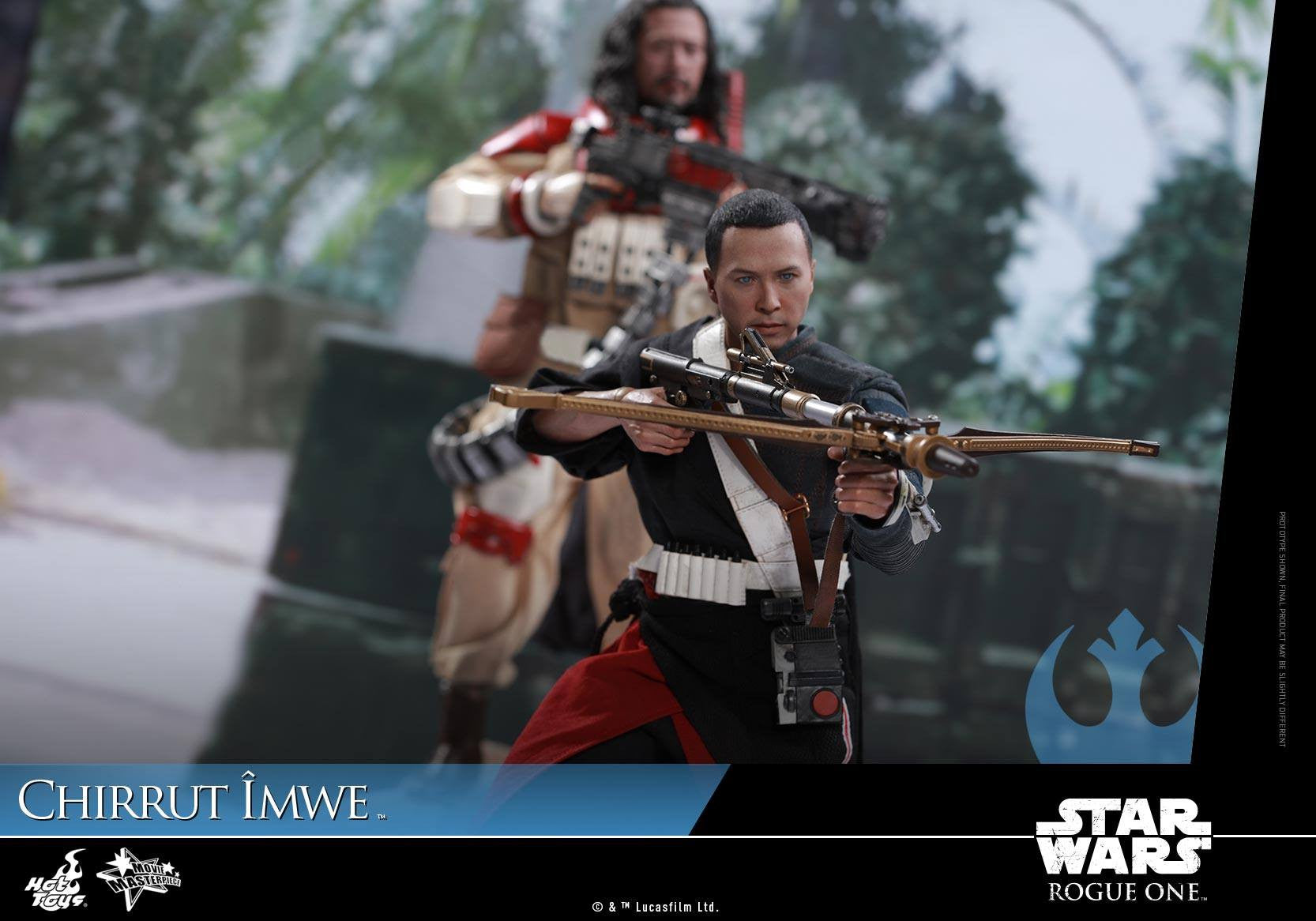 Hot Toys - MMS403 - Rogue One: A Star Wars Story - Chirrut Îmwe (Deluxe Version) - Marvelous Toys - 16