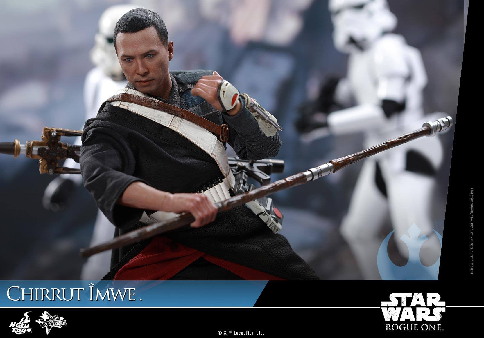 Hot Toys - MMS403 - Rogue One: A Star Wars Story - Chirrut Îmwe (Deluxe Version) - Marvelous Toys - 17