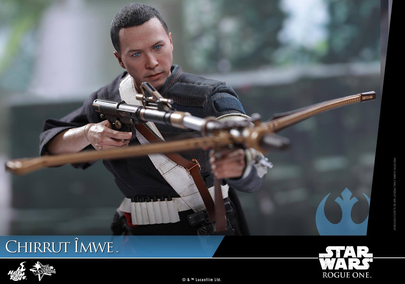 Hot Toys - MMS403 - Rogue One: A Star Wars Story - Chirrut Îmwe (Deluxe Version) - Marvelous Toys - 18