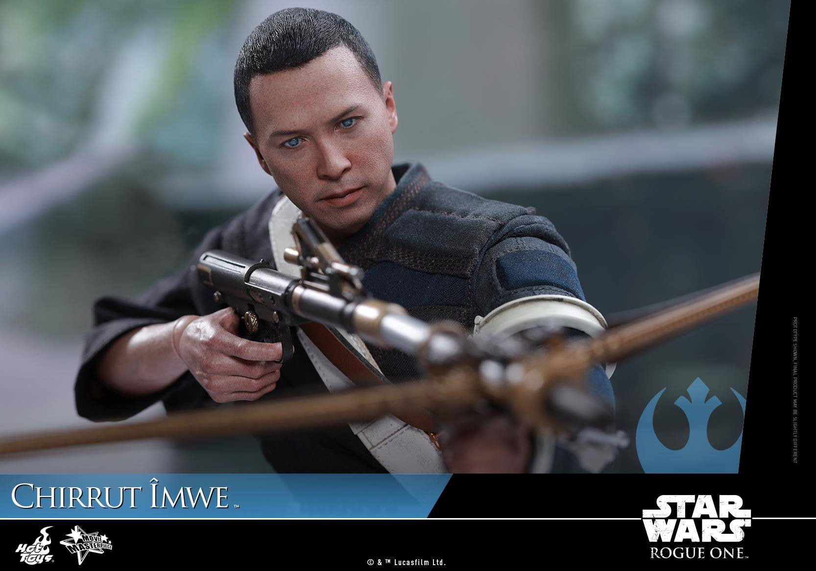 Hot Toys - MMS403 - Rogue One: A Star Wars Story - Chirrut Îmwe (Deluxe Version) - Marvelous Toys - 19