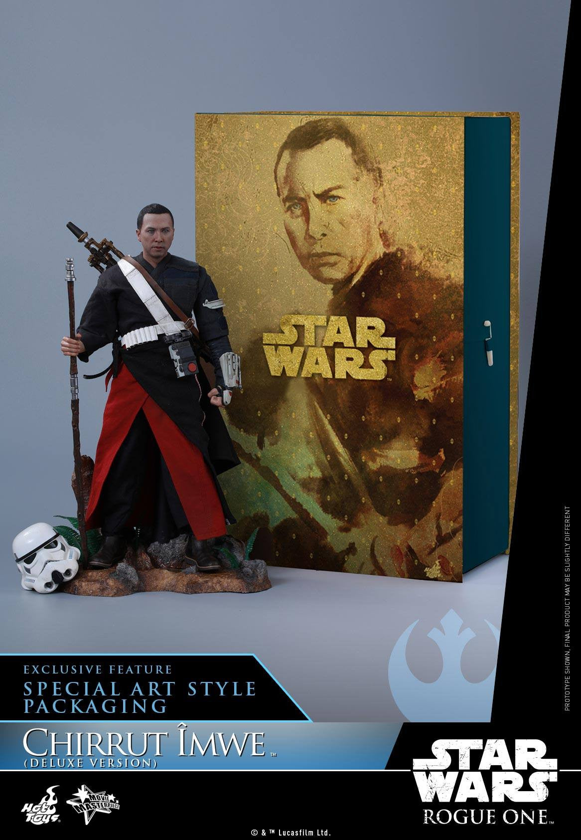 Hot Toys - MMS403 - Rogue One: A Star Wars Story - Chirrut Îmwe (Deluxe Version) - Marvelous Toys - 1