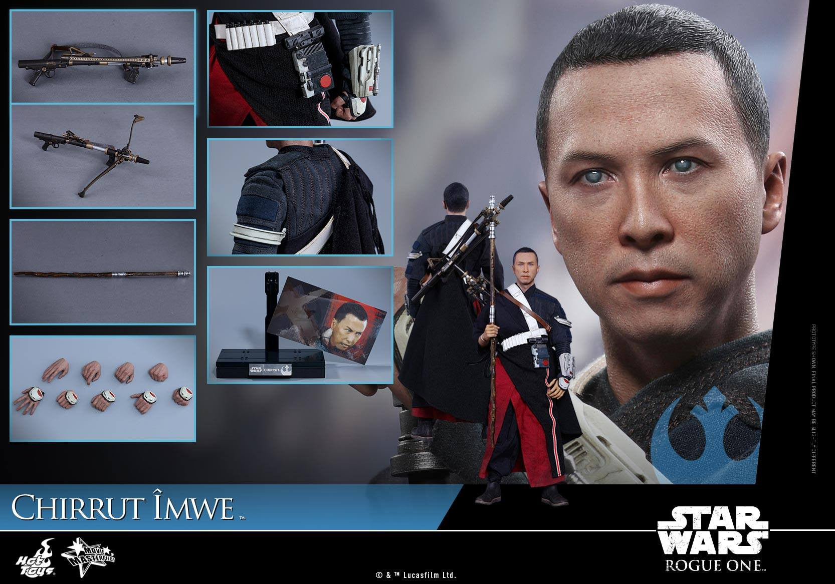 Hot Toys - MMS402 - Rogue One: A Star Wars Story - Chirrut Îmwe - Marvelous Toys - 19