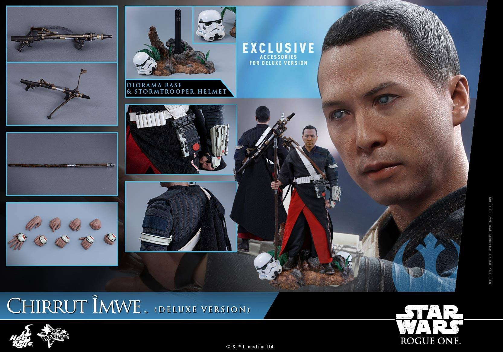 Hot Toys - MMS403 - Rogue One: A Star Wars Story - Chirrut Îmwe (Deluxe Version) - Marvelous Toys - 21