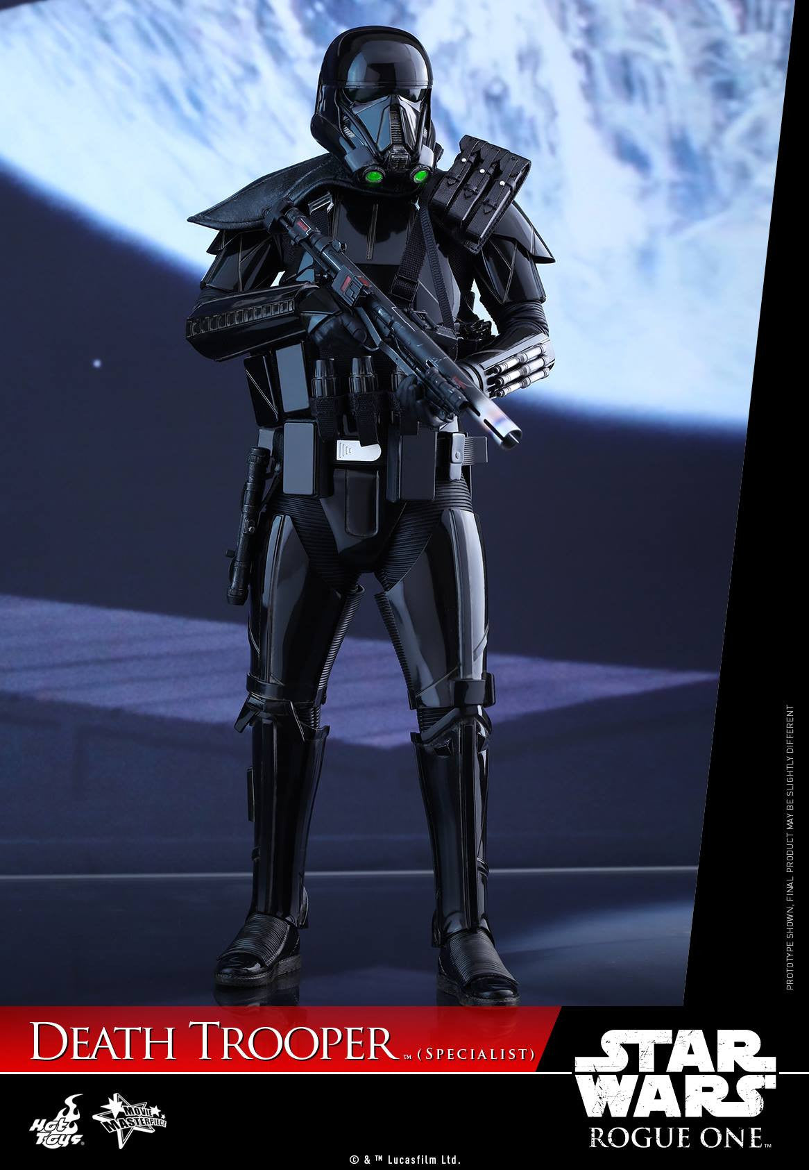 Hot Toys - MMS385 - Rogue One: A Star Wars Story - Death Trooper (Specialist) - Marvelous Toys - 3