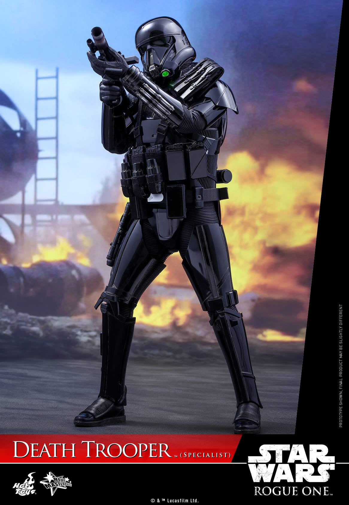 Hot Toys - MMS385 - Rogue One: A Star Wars Story - Death Trooper (Specialist) - Marvelous Toys - 1