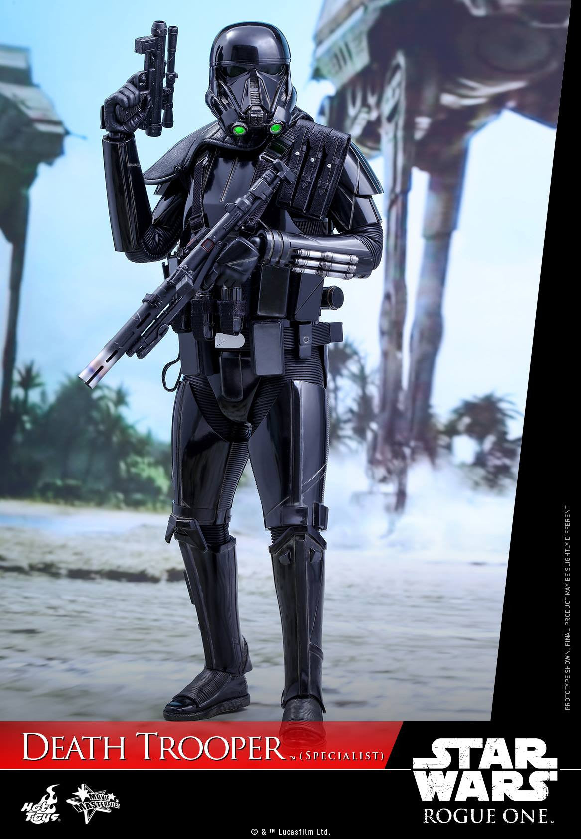 Hot Toys - MMS385 - Rogue One: A Star Wars Story - Death Trooper (Specialist) - Marvelous Toys - 8