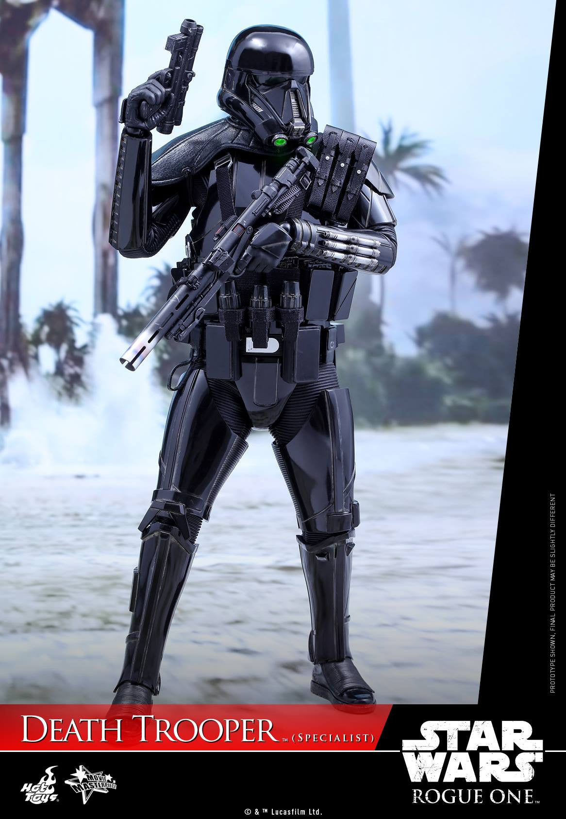 Hot Toys - MMS385 - Rogue One: A Star Wars Story - Death Trooper (Specialist) - Marvelous Toys - 9